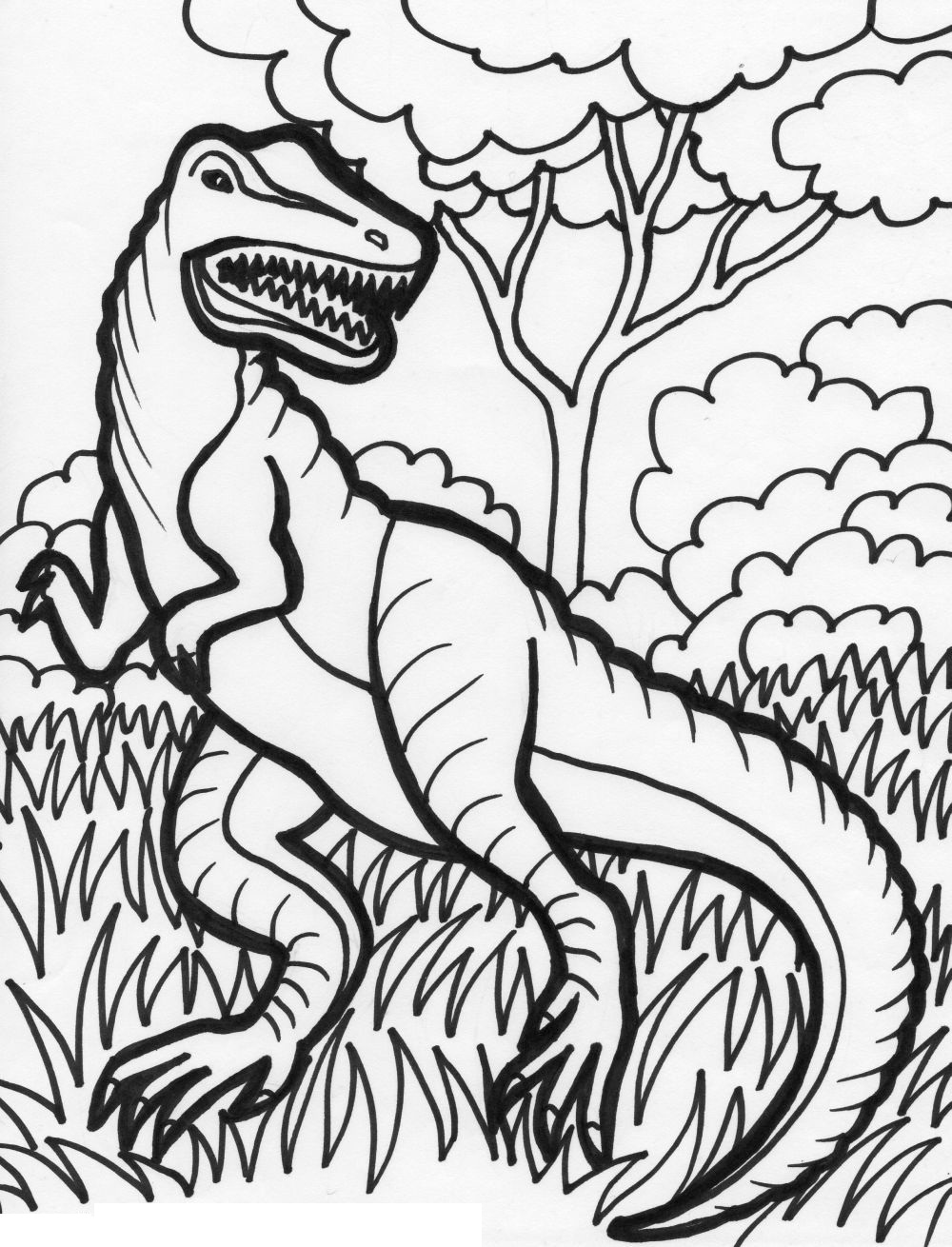 dinosaur coloring pages for kids funny dinosaur coloring page for kids printable free dinosaur coloring kids pages for