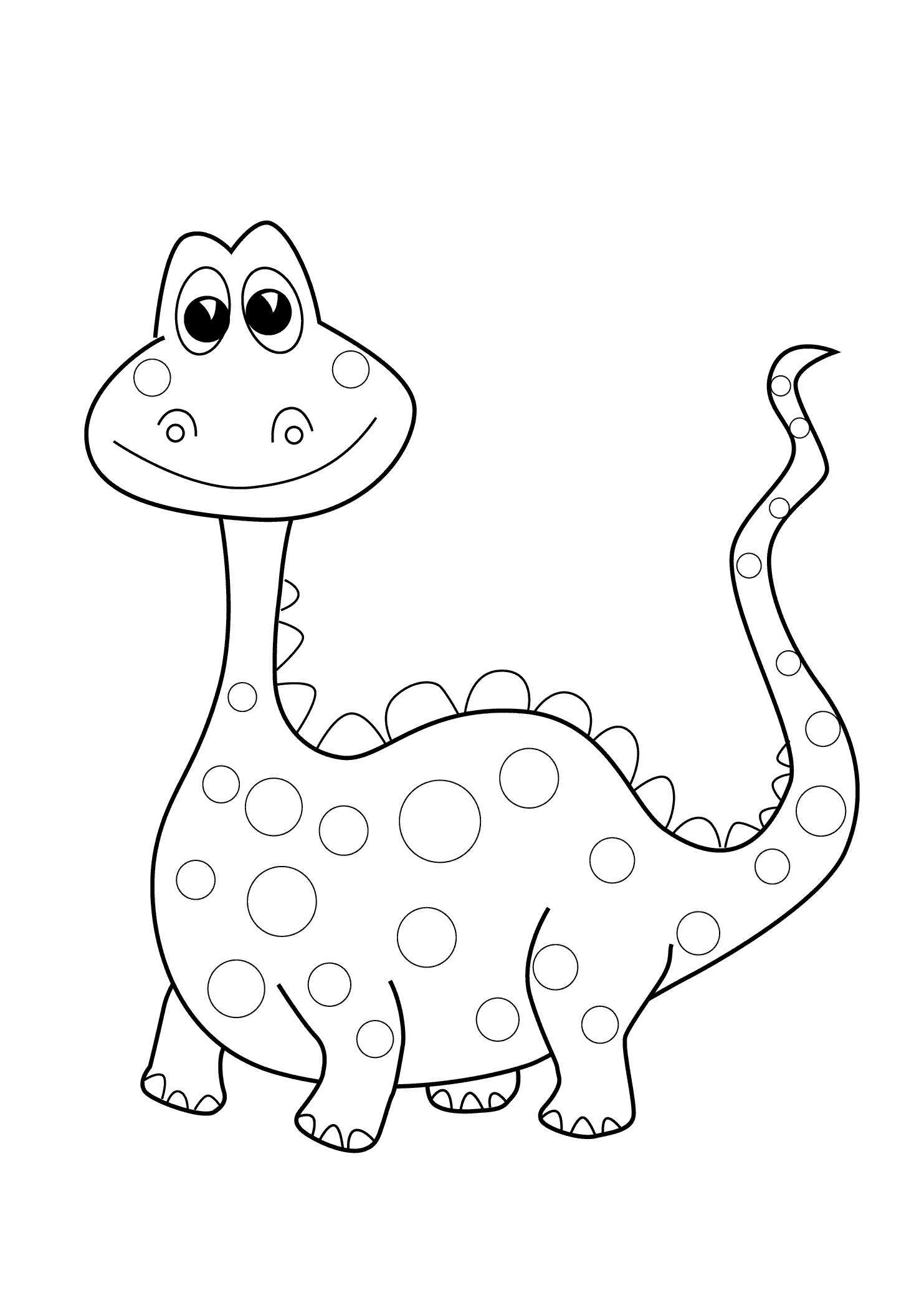 dinosaur images to colour baby dinosaur coloring pages for preschoolers activity colour dinosaur to images