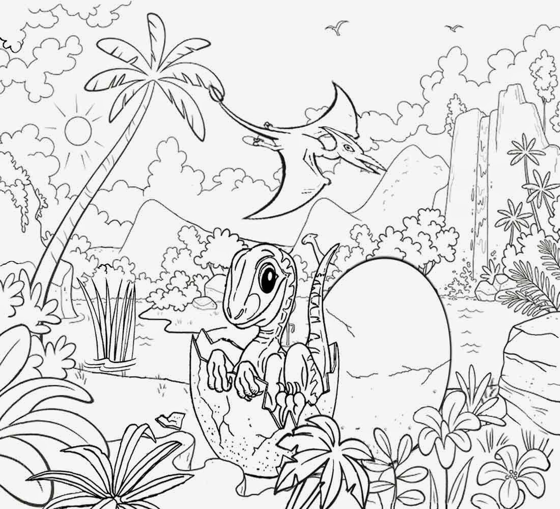 dinosaur landscape coloring page landscape color drawing at getdrawings free download dinosaur landscape page coloring