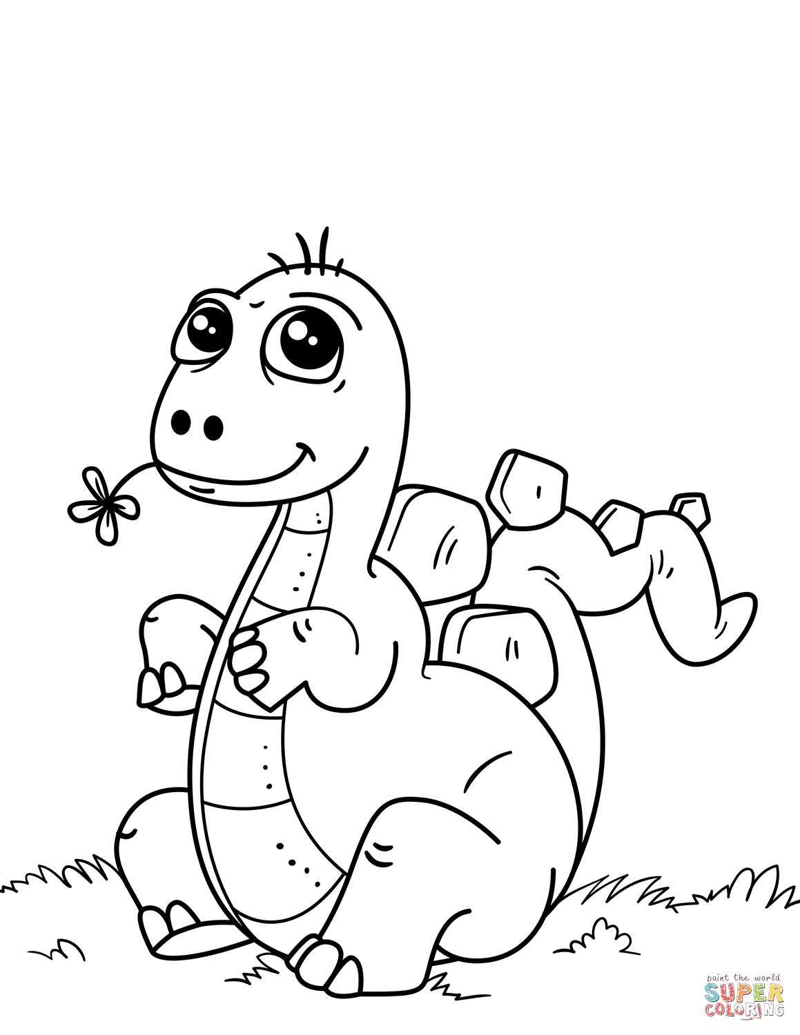 dinosaur outlines baby dinosaur coloring pages for preschoolers activity dinosaur outlines