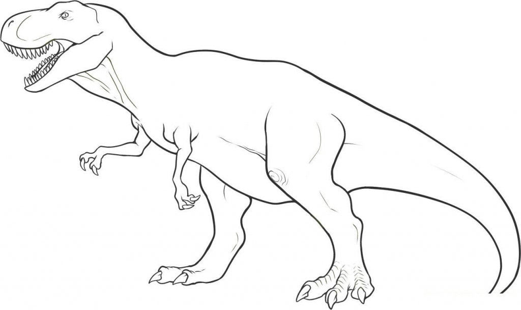 dinosaur outlines dinosaur outline drawing at getdrawings free download outlines dinosaur