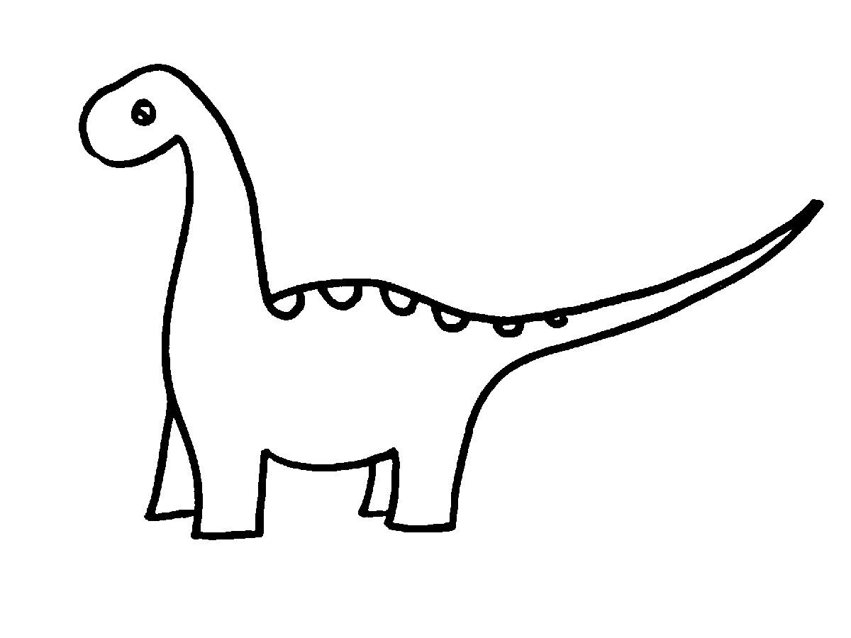 dinosaur outlines dinosaur outline drawing free download on clipartmag outlines dinosaur