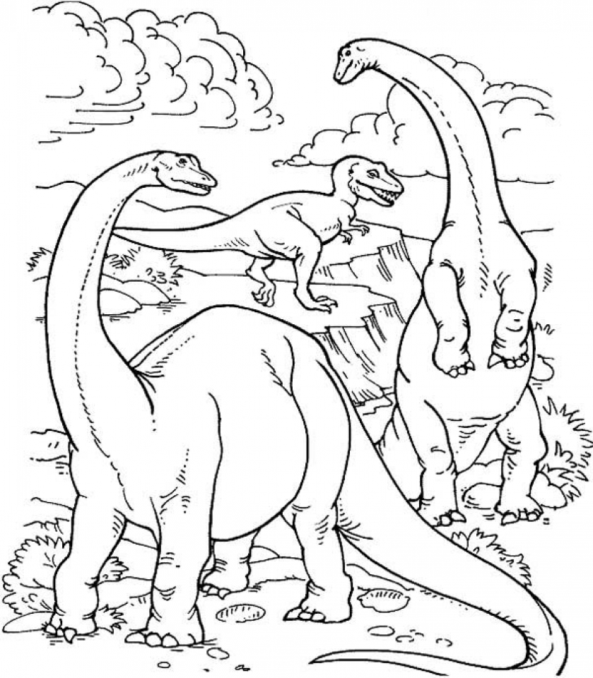 dinosaurs pictures to color free printable dinosaur coloring pages for kids color dinosaurs to pictures