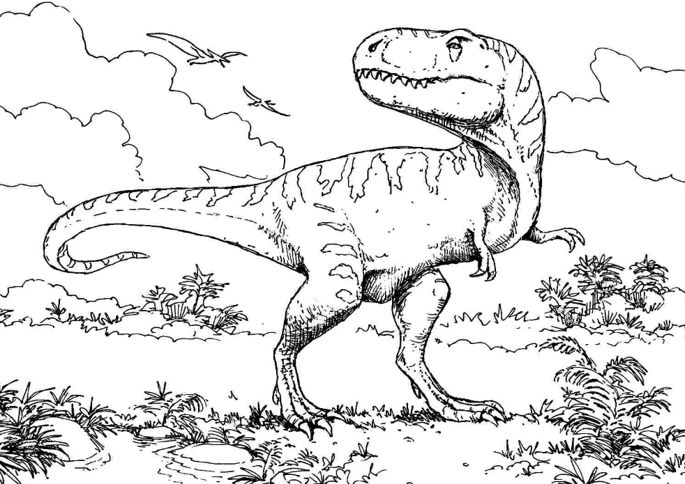 dinosaurs pictures to color free printable dinosaur coloring pages print color craft to pictures color dinosaurs