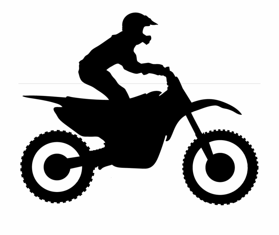 dirt bike silhouette dirt bike rider silhouette at getdrawings free download bike dirt silhouette