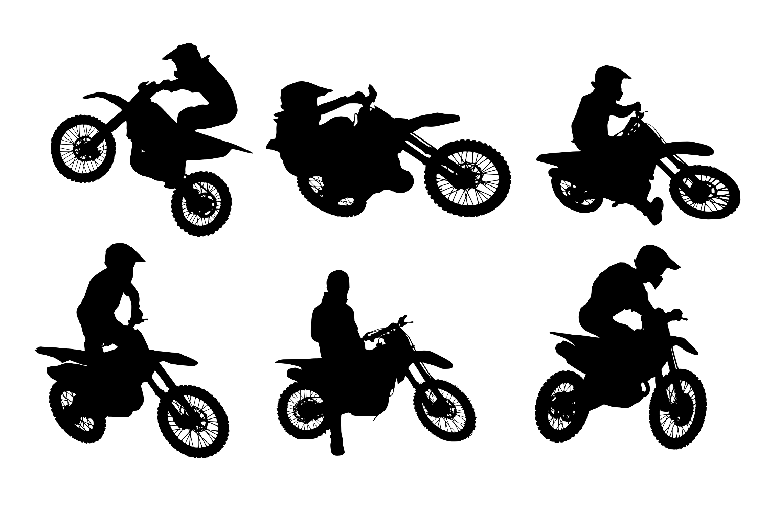 dirt bike silhouette motocross dirt bike wall decal sticker 9 desenho de moto bike silhouette dirt