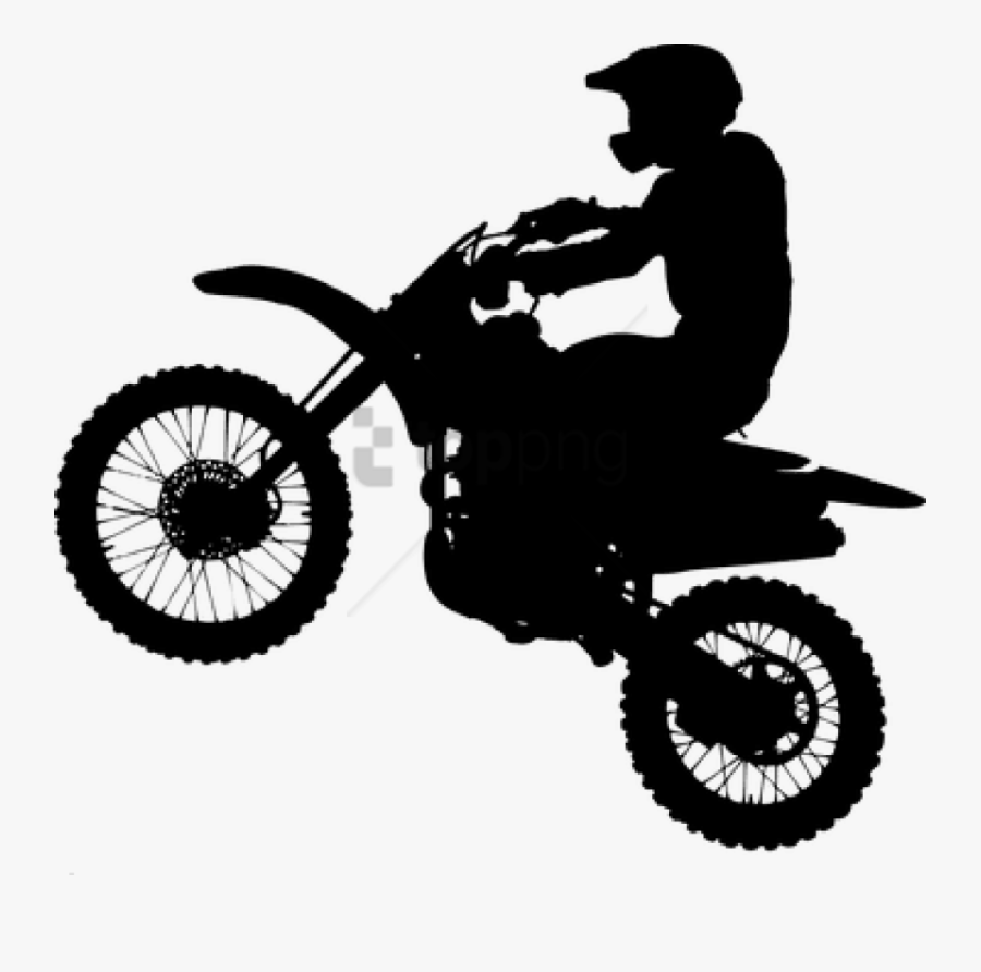 dirt bike silhouette silhouette of a dirt bike transparent png 600x347 free dirt bike silhouette