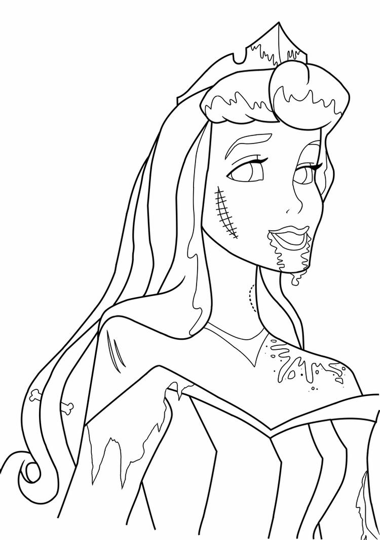 disney channel zombies coloring pages aurora lineart by serene shadow on deviantart disney zombies coloring channel pages