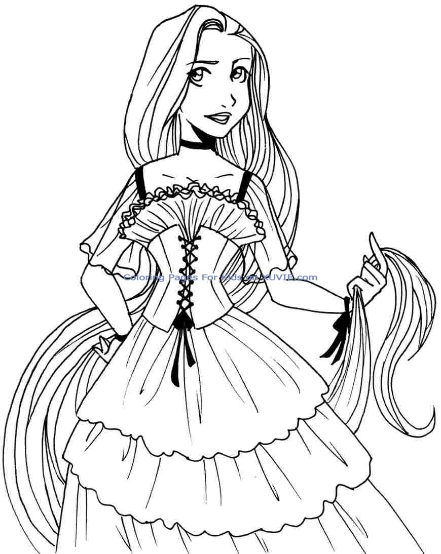 disney free colouring pages free printable tangled coloring pages for kids cool2bkids pages free colouring disney