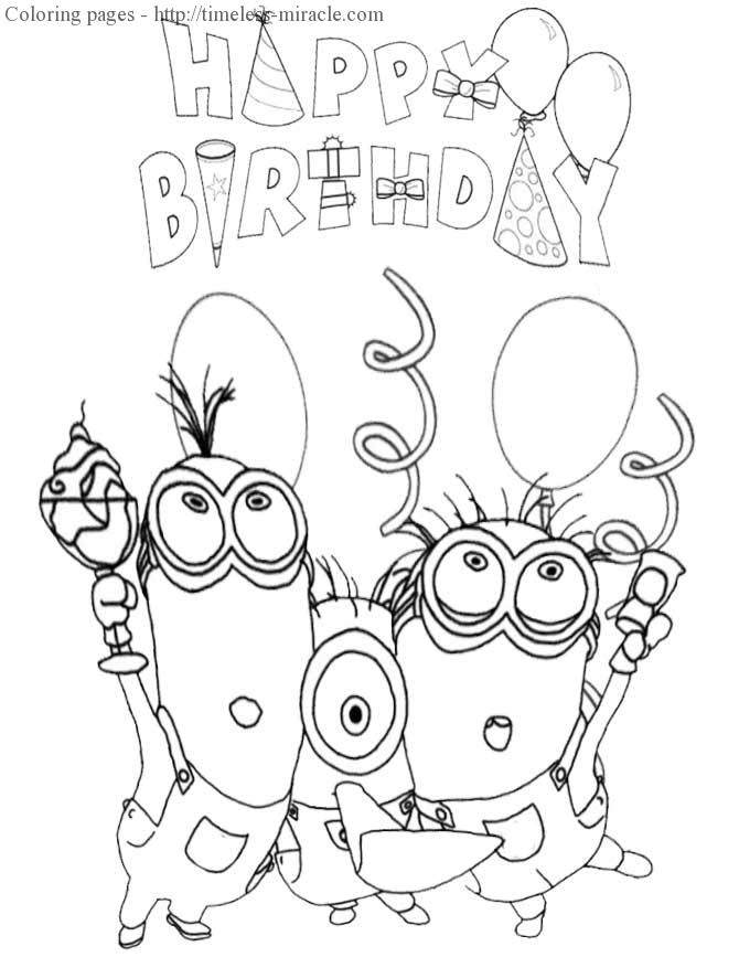 disney happy birthday coloring pages free printable happy birthday coloring pages for kids pages happy coloring birthday disney