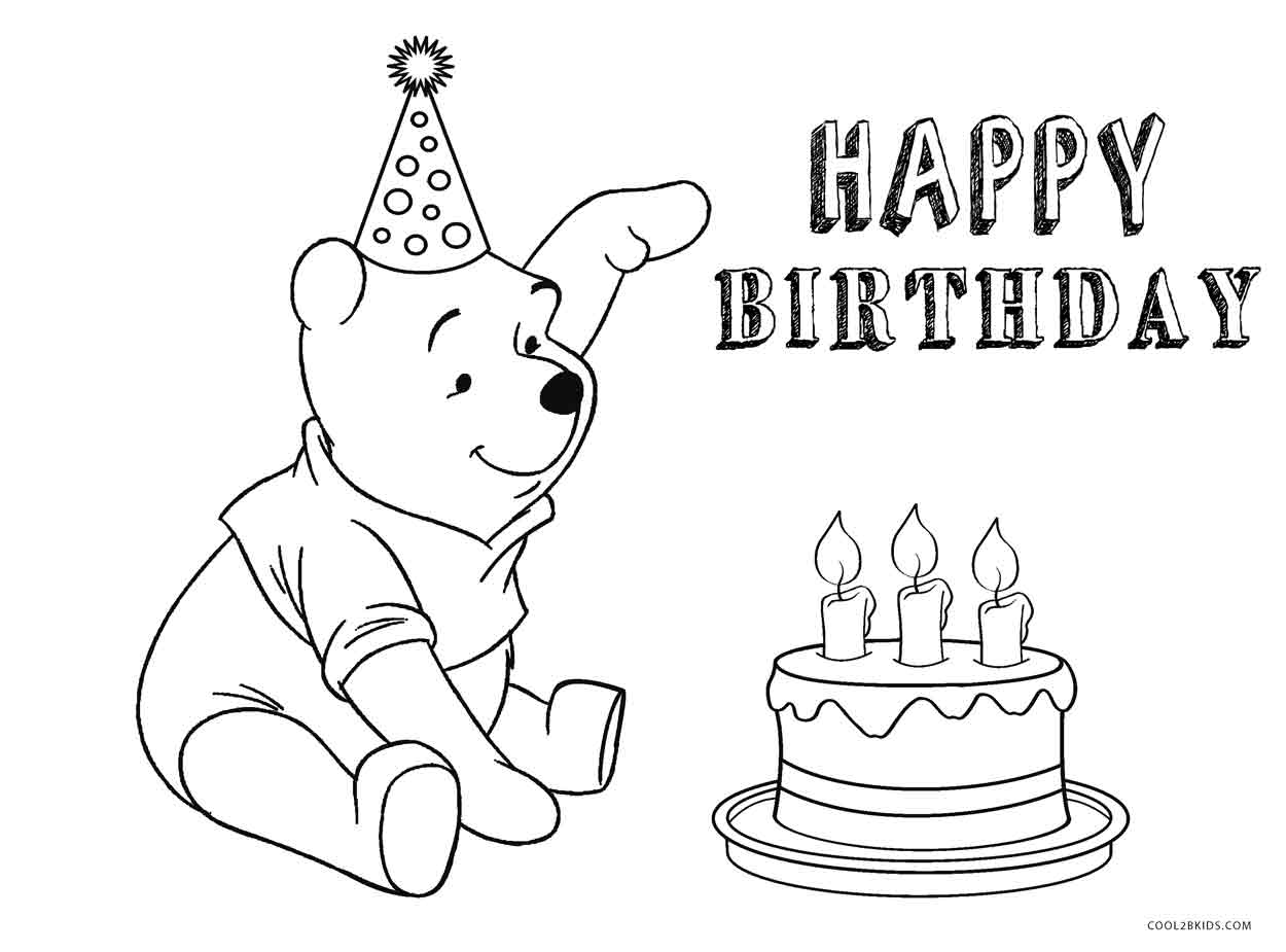 disney happy birthday coloring pages happy birthday disney coloring pages coloring home coloring happy birthday disney pages