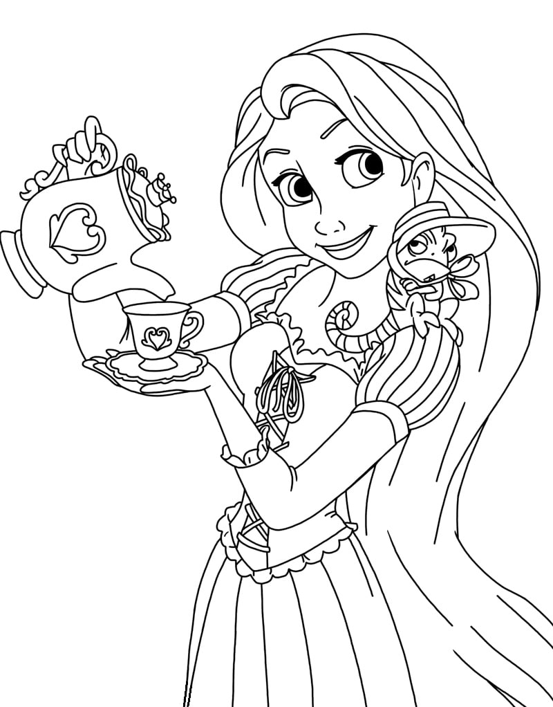 disney rapunzel coloring pages coloring pages quottangledquot free printable coloring pages of disney pages coloring rapunzel