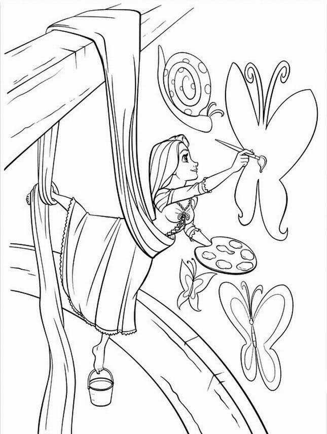 disney rapunzel coloring pages princess rapunzel tangled disney coloring pages pages coloring disney rapunzel
