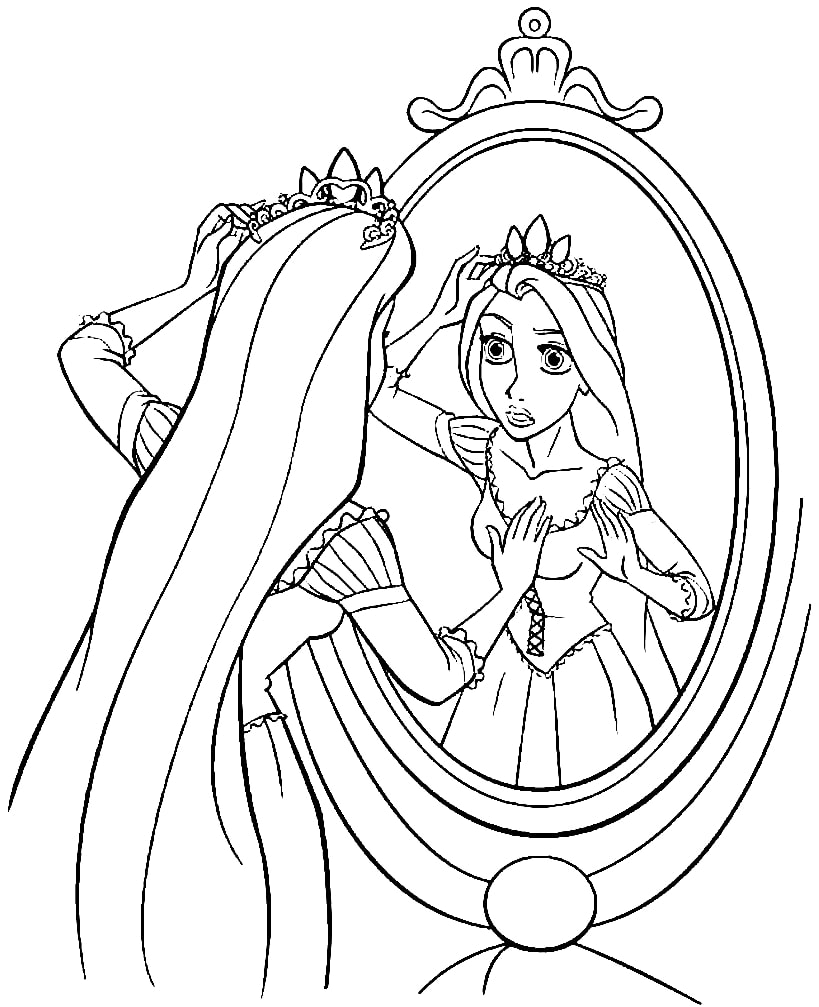 disney rapunzel coloring pages rapunzel coloring pages print and colorcom disney coloring rapunzel pages