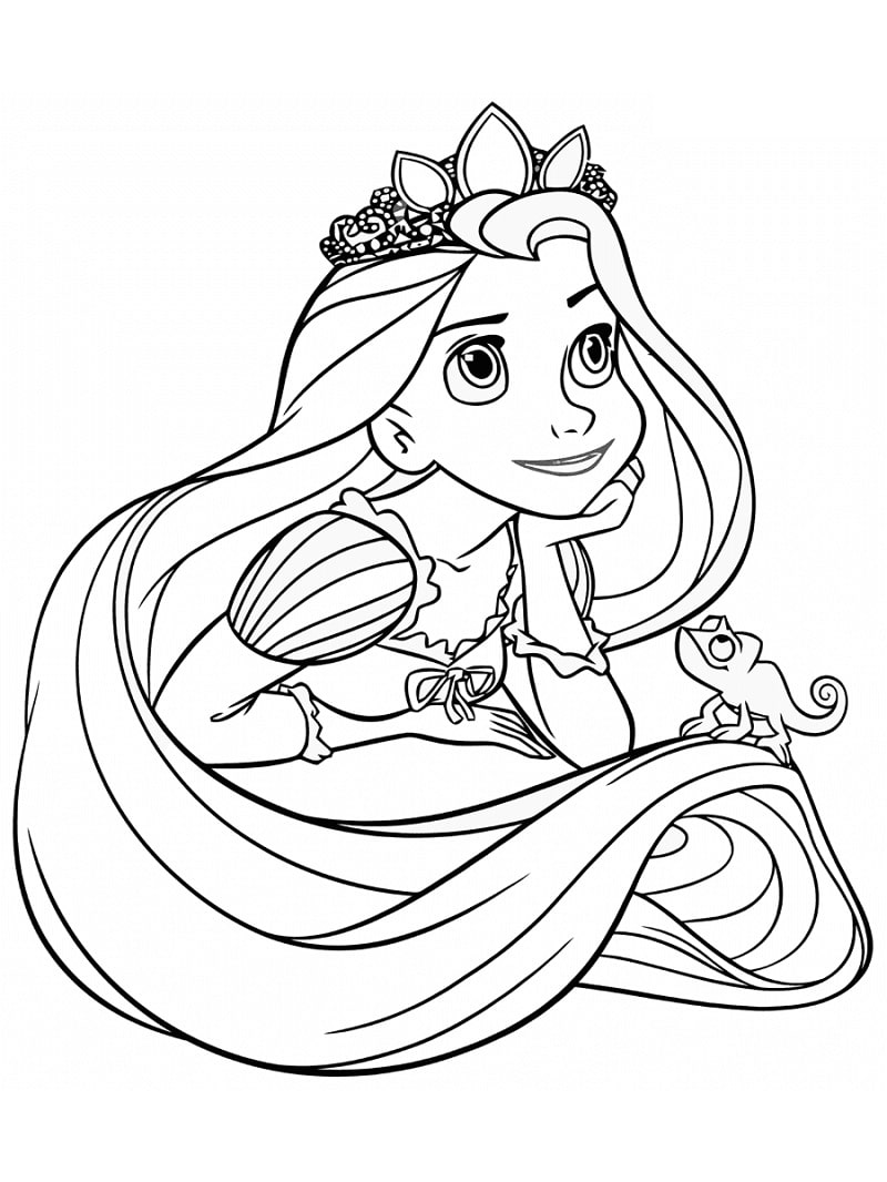 disney rapunzel pictures to color nice rapunzel and flynn ready coloring page disney disney to pictures color rapunzel