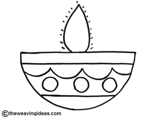 diwali outline pictures diwali colouring pages diwali candles diwali for kids outline diwali pictures