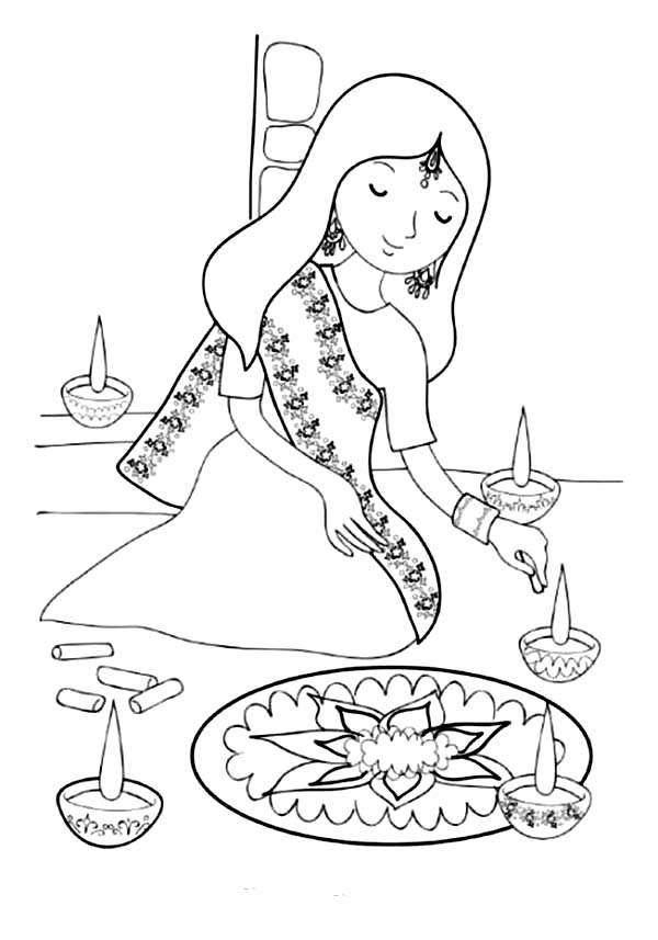 diwali outline pictures diwali lamp pattern use the printable outline for crafts diwali outline pictures
