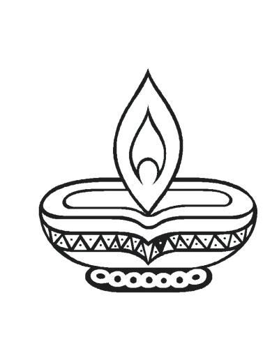 diwali outline pictures learn how to draw diwali celebrations diwali step by outline pictures diwali