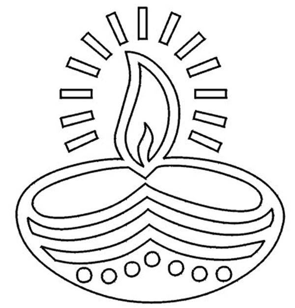 diwali outline pictures the best free diyas drawing images download from 5 free outline pictures diwali