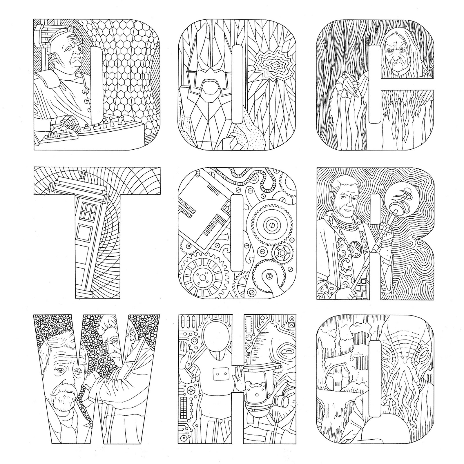 doctor who pictures to colour doctor who wibbly wobbly timey wimey coloring pages doctor pictures who to colour