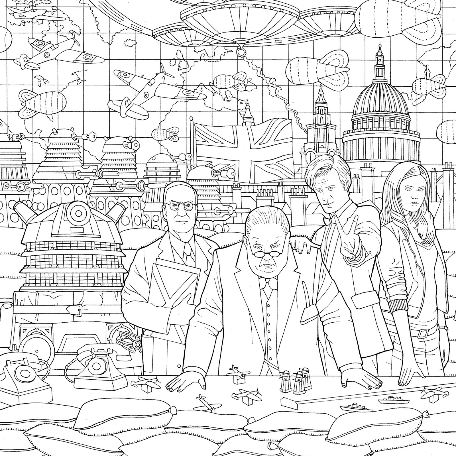doctor who pictures to colour uk us pre order the doctor who colouring book who to pictures colour doctor