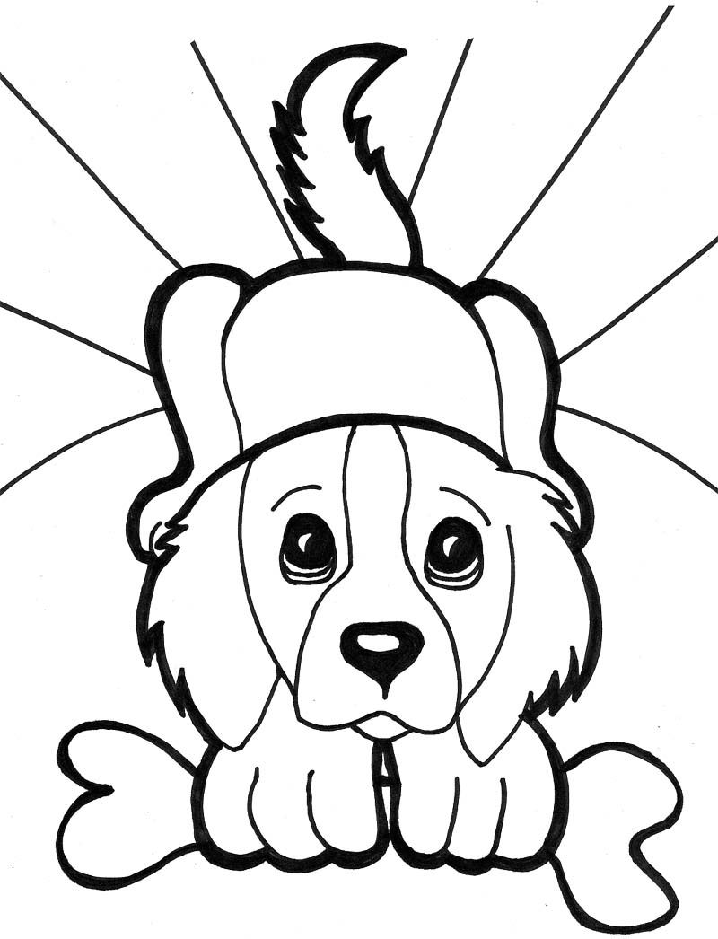 dog color page dog to download for free dogs kids coloring pages dog page color