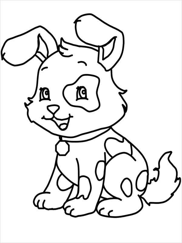 dog color page pug dog coloring pages coloring home color page dog