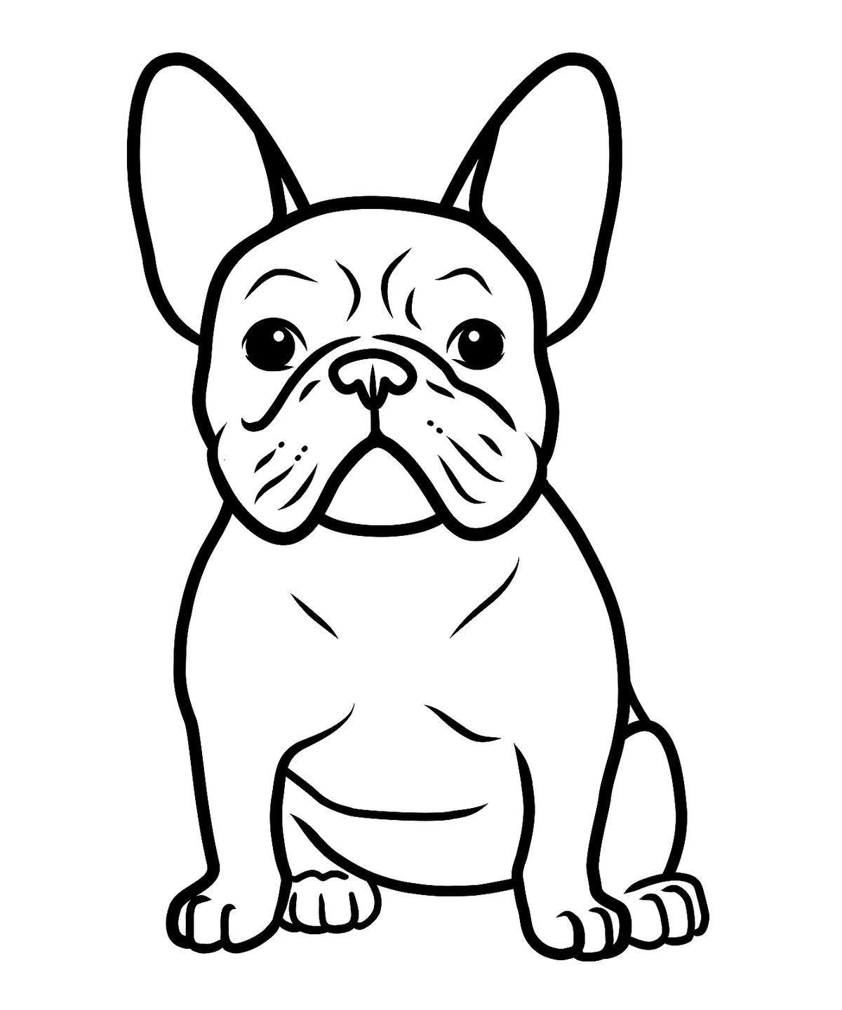 dog color page the best free direct coloring page images download from dog color page