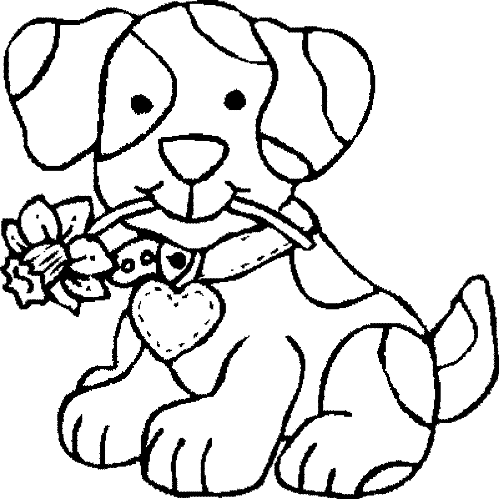 dog color page top 25 free printable dog coloring pages online page color dog