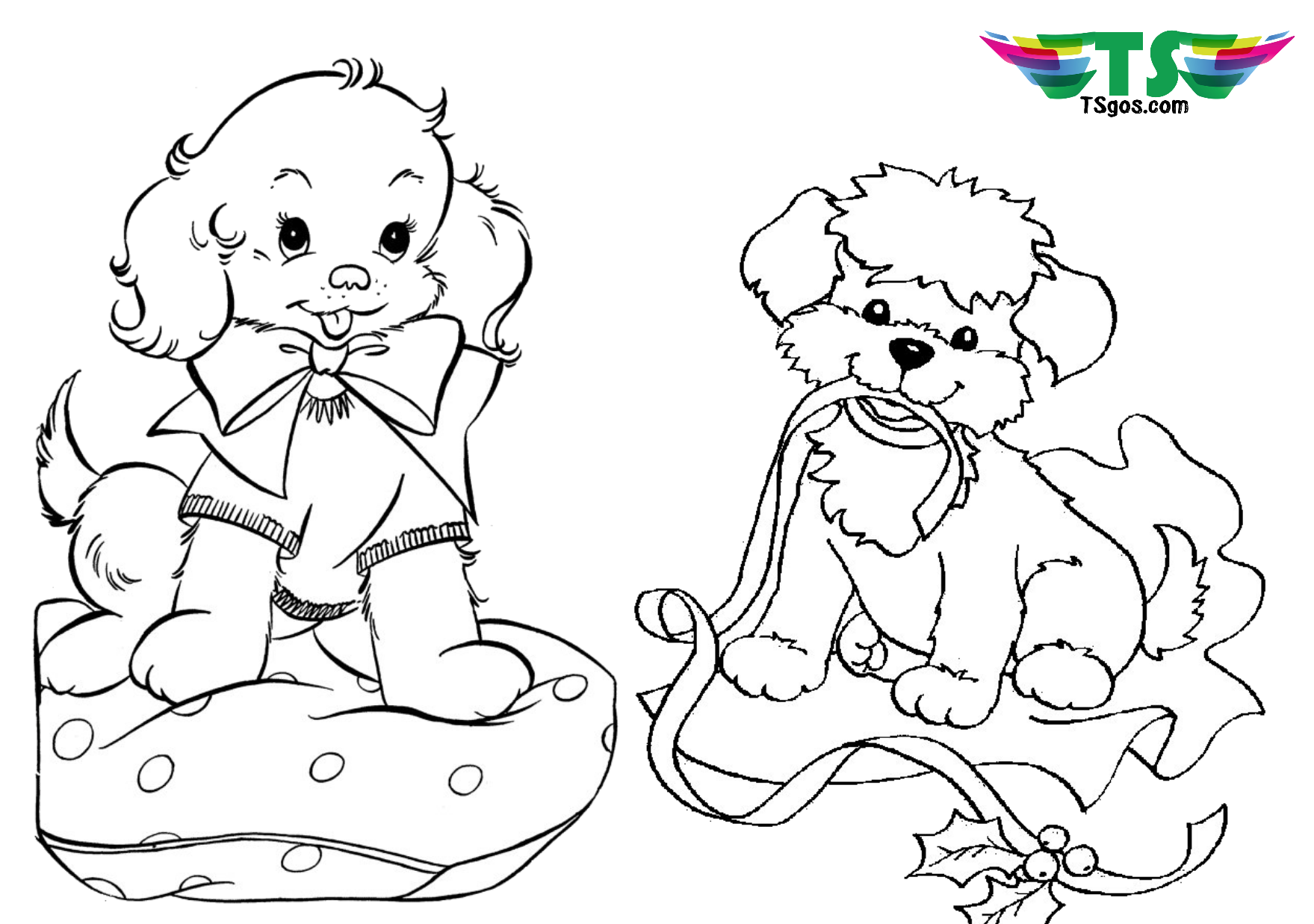 dog coloring employ dog coloring pages for your childrens creative time coloring dog