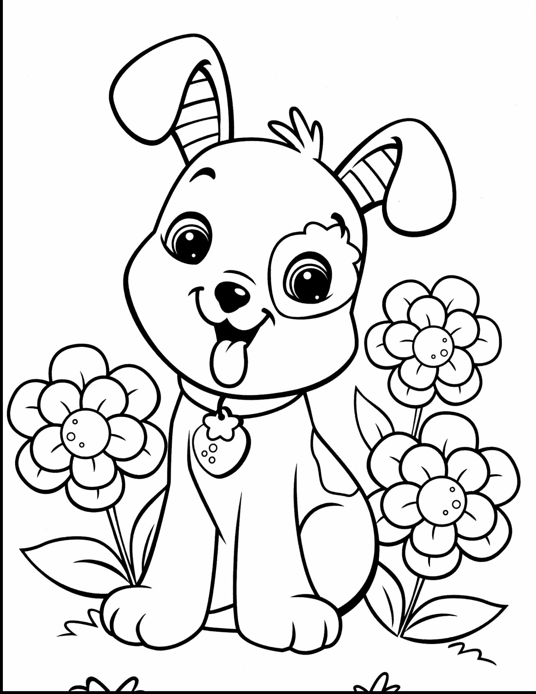 dog coloring free printable cute dog coloring pages collection images dog coloring
