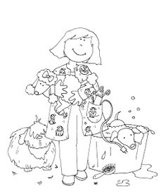 dog grooming coloring pages dog groomer dog graphics picgifscom pages dog coloring grooming