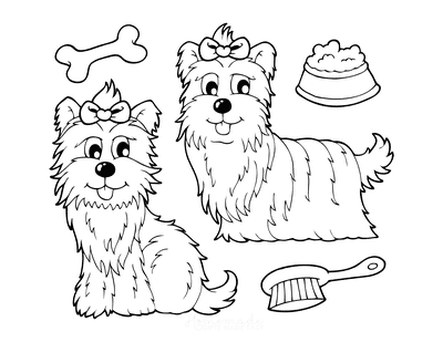 dog grooming coloring pages dog groomer svg google search dog grooming dog coloring pages dog grooming