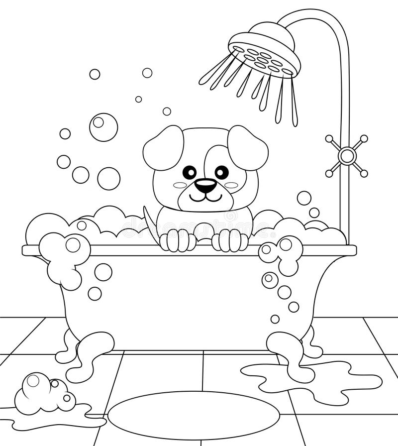 dog grooming coloring pages dog grooming coloring pages di 2020 grooming coloring dog pages