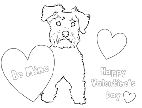 dog grooming coloring pages dogs coloring pages for kids grooming dog coloring pages