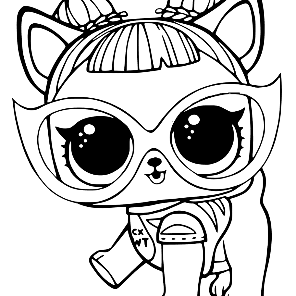 dog lol pets coloring pages dog lol coloring pages pets thekidsworksheet coloring pages pets lol dog