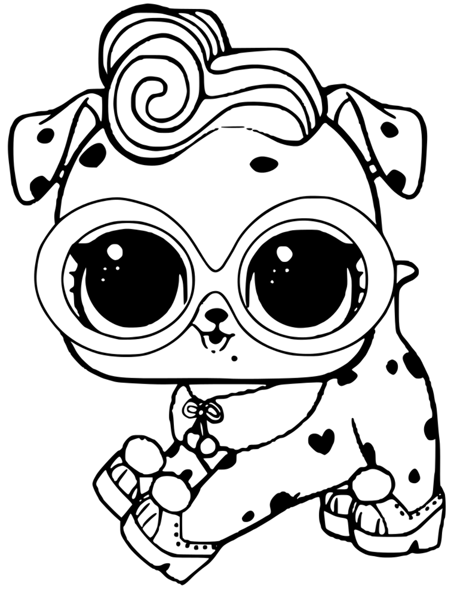 dog lol pets coloring pages sur fur puppy from lol pets coloring pages free coloring pages dog pets lol