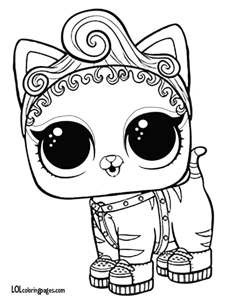 dog lol pets coloring pages the best free surprise coloring page images download from pages pets coloring lol dog