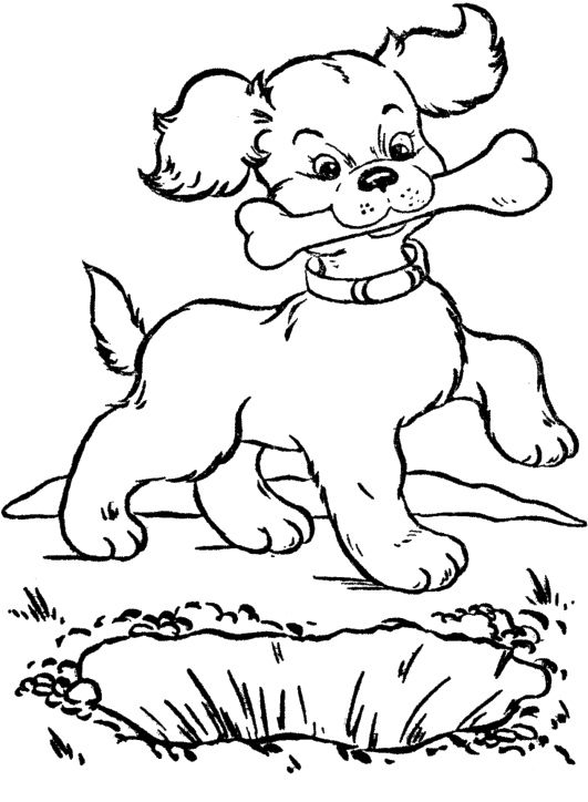 dog with bone coloring page 40 best dog images on pinterest coloring sheets bone dog coloring page with