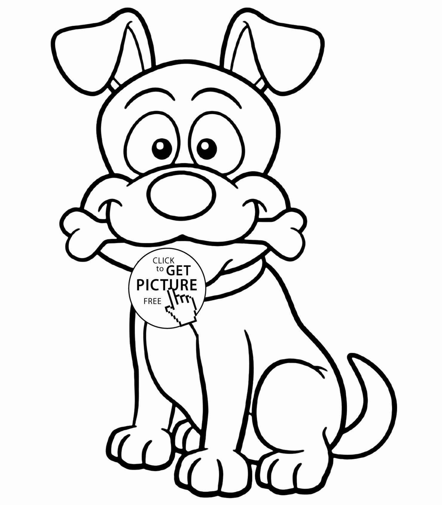 dog with bone coloring page pin on best animal coloring pages coloring dog bone with page
