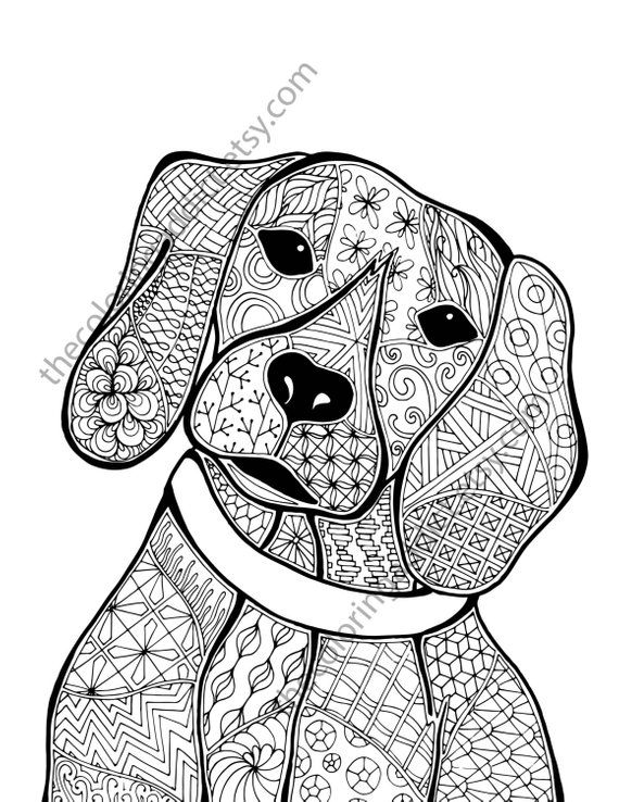dog zentangle coloring pages patterned zentangle dog coloring pages getcoloringpagesorg zentangle dog pages coloring