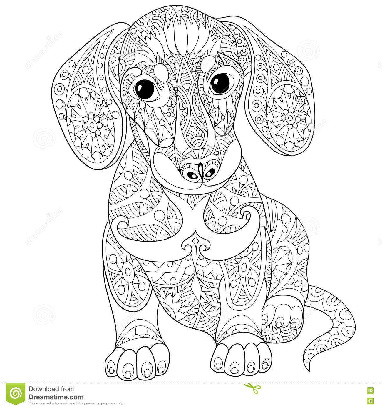 dog zentangle coloring pages pin on pen drawings coloring pages zentangle dog