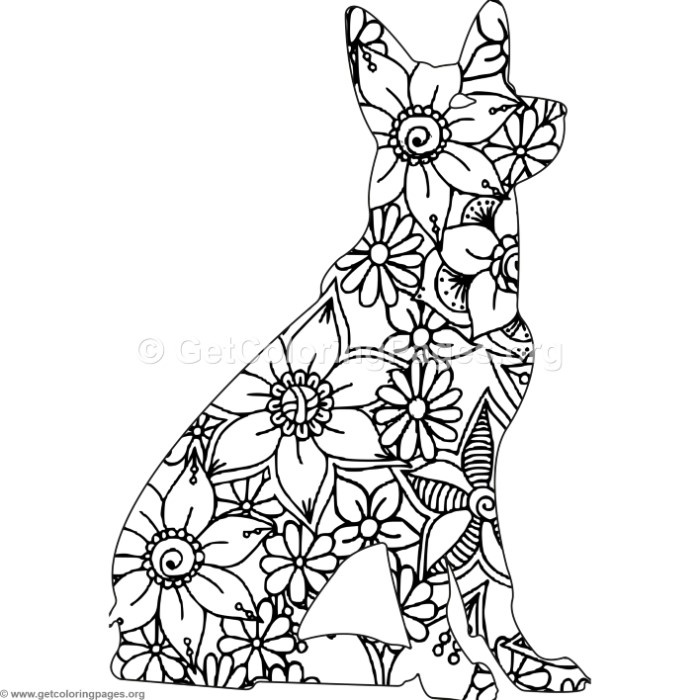 dog zentangle coloring pages westie zentangle animals dog coloring page pages dog coloring zentangle