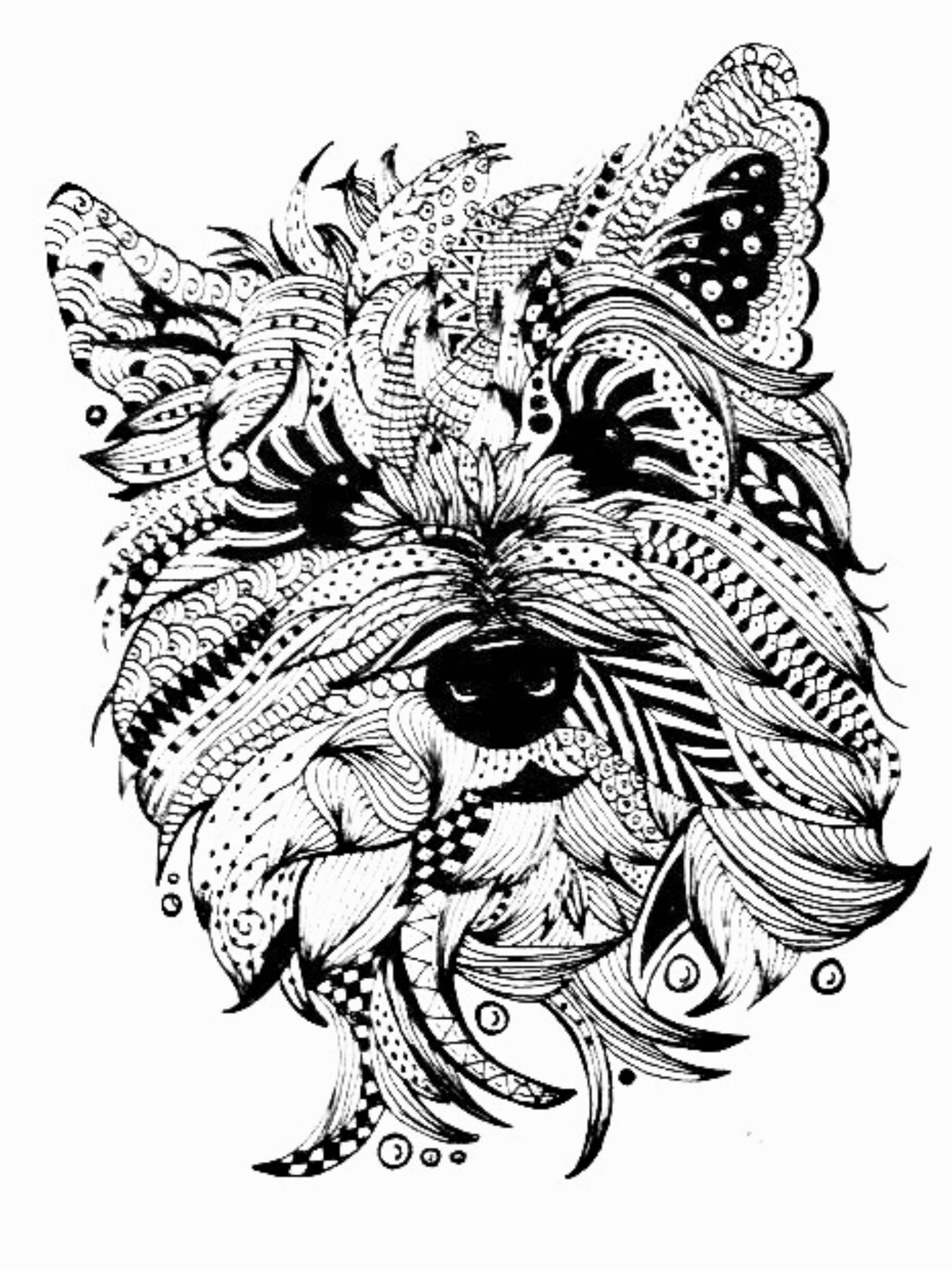 dog zentangle coloring pages zentangle hand drawing dog for antistress coloring pages zentangle dog pages coloring