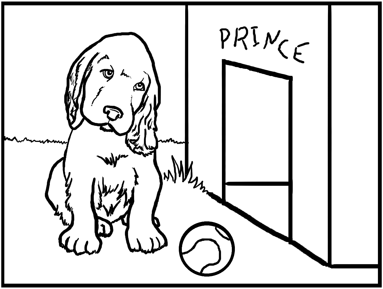 dogs to colour in and print free printable dog coloring pages for kids in print and dogs to colour