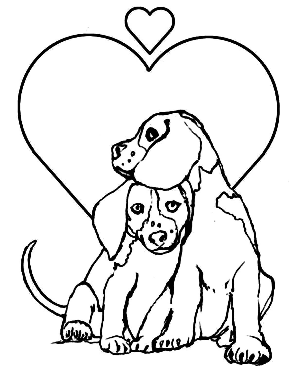 dogs to colour in and print free printable puppies coloring pages for kids and to print in colour dogs