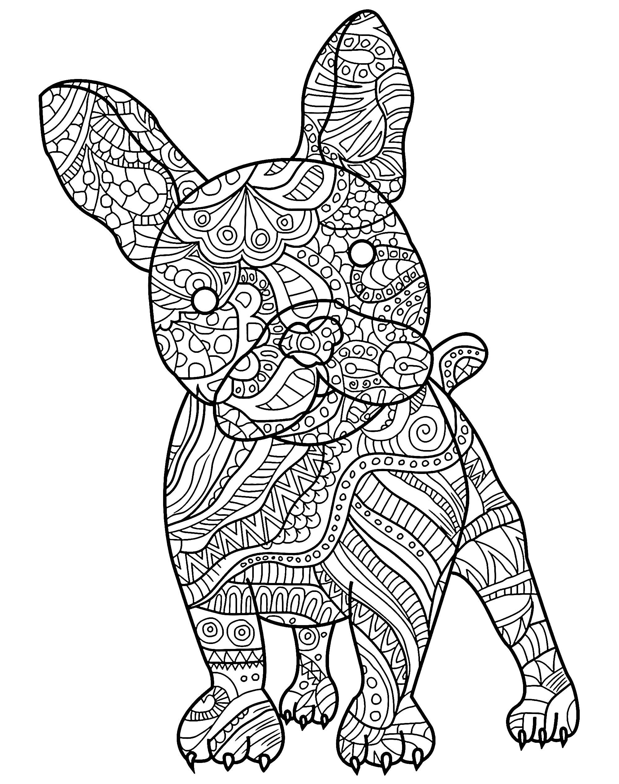 dogs to colour in and print free printable puppies coloring pages for kids in and to dogs print colour