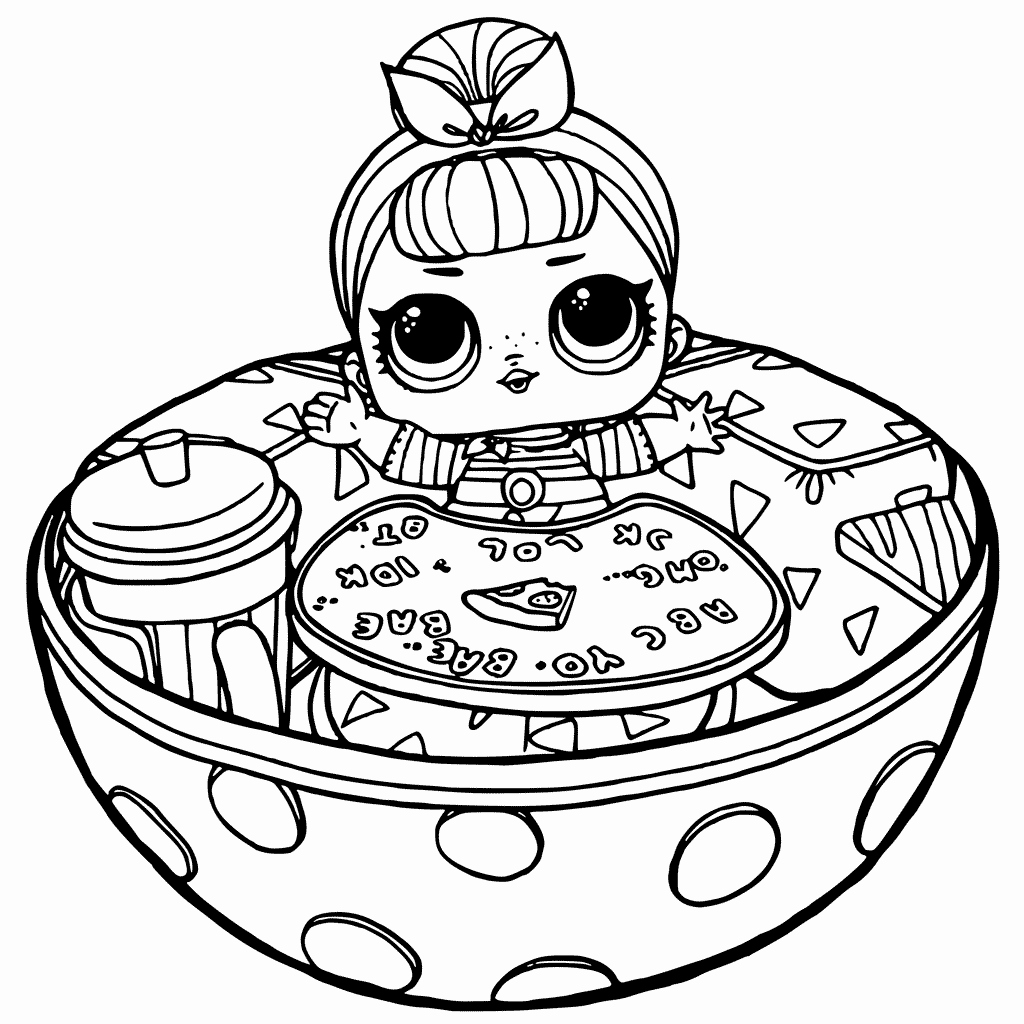 dolls coloring pages lol surprise doll coloring pages at getdrawings free pages coloring dolls