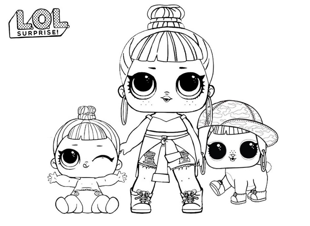 dolls coloring pages omg dolls free coloring pages pages coloring dolls