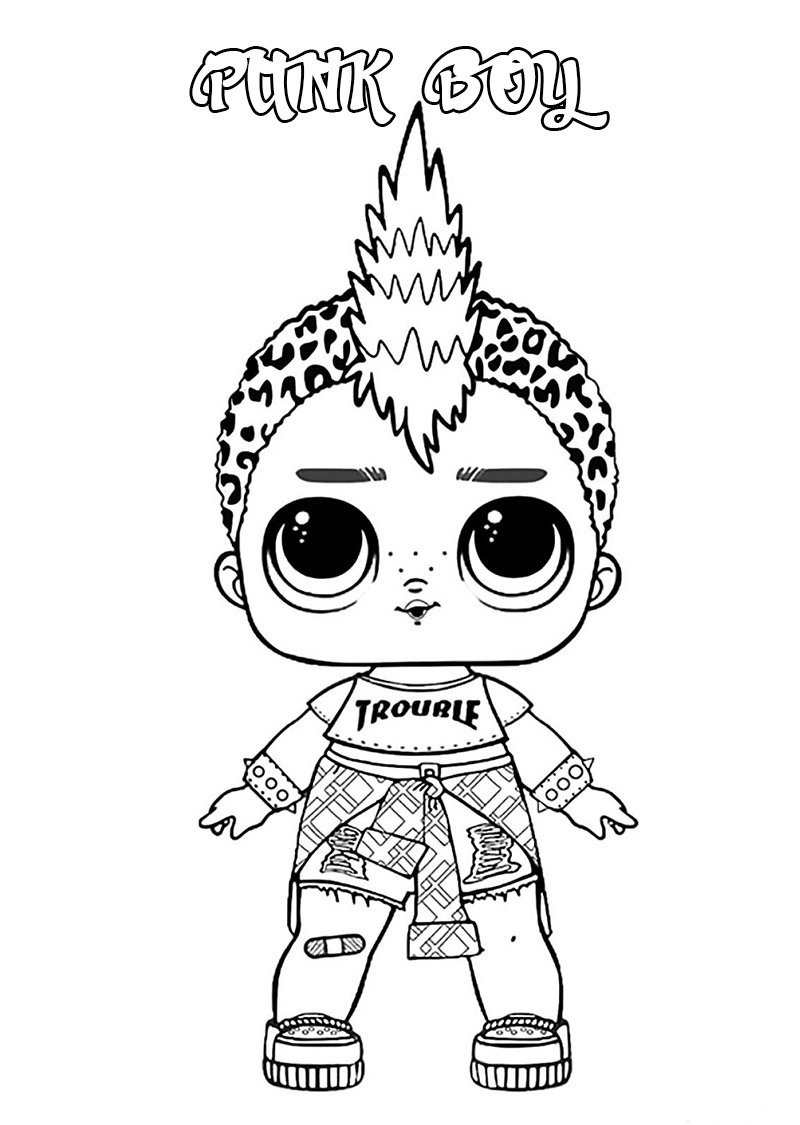 dolls coloring pages printable lol doll merbaby coloring page dolls pages coloring